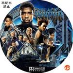 ブラックパンサー DVDラベル
