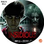 インシディアス DVDラベル