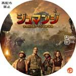 ジュマンジ/ウェルカム・トゥ・ジャングル DVDラベル