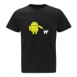 Organic Android Black Tee
