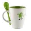 Android Mug & Spoon